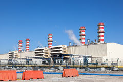Central eléctrica moderna Imagen de archivo