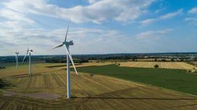 Central eléctrica renovable fotos de archivo