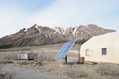 Central eléctrica solar imagem de stock royalty free