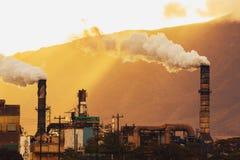 Central eléctrica sucia Imagen de archivo