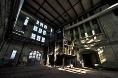 Central eléctrica vieja fotografía de archivo libre de regalías