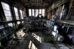 Central eléctrica vieja Imagenes de archivo