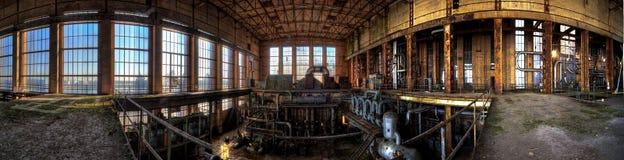 Central eléctrica vieja imágenes de archivo libres de regalías