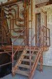 Central eléctrica vieja Fotografía de archivo