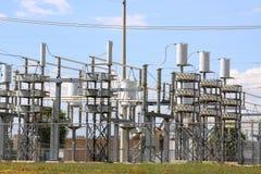 Central elétrica Fotos de Stock Royalty Free