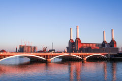 Central elétrica Battersea Londres Fotografia de Stock