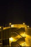 Central elétrica bonde da turbina de gás Imagem de Stock Royalty Free
