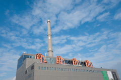 Central elétrica da arte, Shanghai Fotografia de Stock
