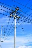 Central elétrica da biomassa Fotos de Stock Royalty Free