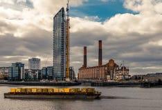 A central elétrica de Battersea fotos de stock royalty free
