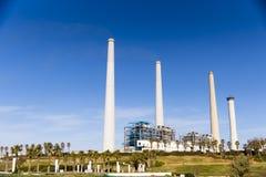Central elétrica de carvão fotos de stock