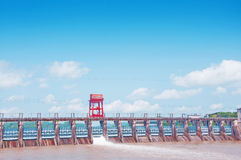 Central elétrica hidrelétrico Imagem de Stock