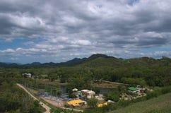 Central elétrica hidroelétrico de Kaeng Krachan Fotografia de Stock