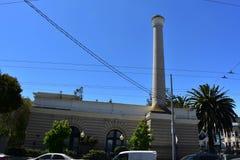 A central elétrica pacífica do sul do hospital girou a plaza da família da mercê, 1 imagens de stock royalty free
