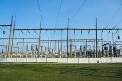 Central elétrica para a indústria elétrica Imagem de Stock Royalty Free