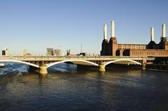 Central eléctrica de Battersea Foto de archivo
