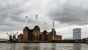 Central eléctrica de Battersea en Londres Imagenes de archivo