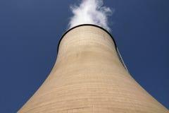 Central eléctrica de calor Foto de archivo libre de regalías