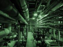 Central electrica Fotos de archivo libres de regalías