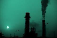 Central energética Foto de Stock