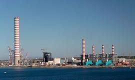 Central energética Foto de Stock Royalty Free