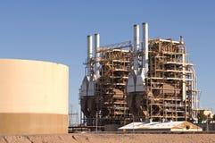 Central energética Imagens de Stock