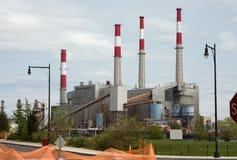 Central energética Imagem de Stock Royalty Free
