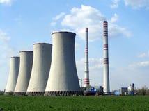 Central energética Imagens de Stock Royalty Free