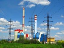 Central energética Fotos de Stock Royalty Free