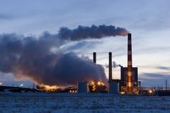 Central energética Fotografia de Stock