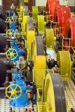 Central energética da água fotos de stock