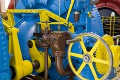 Central energética da água foto de stock royalty free