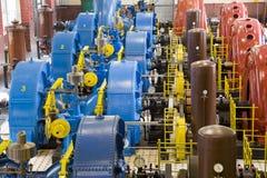 Central energética da água fotografia de stock