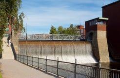 Central energética da água Fotografia de Stock Royalty Free