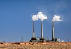 Central energética de carvão Fotos de Stock