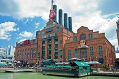 Central energética de Hard Rock Cafe em Baltimore Maryland fotos de stock