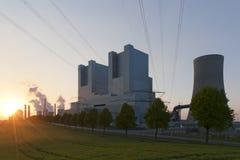 Central energética de Neurath fotografia de stock