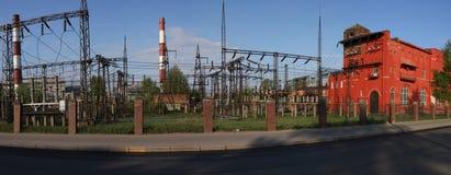 Central energética despedida carvão Imagem de Stock Royalty Free