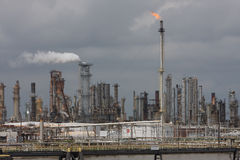 Central energética do combustível fóssil Imagem de Stock Royalty Free