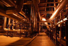 Central energética elétrica Fotografia de Stock Royalty Free