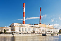 Central energética elétrica Imagem de Stock