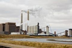 Central energética elétrica Foto de Stock