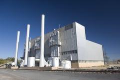 Central energética elétrica Fotografia de Stock