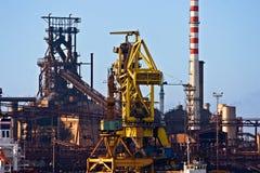 Central energética em Piombino, Italy. Fotografia de Stock Royalty Free