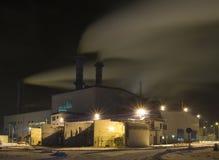 A central energética (estação). fotografia de stock royalty free