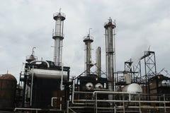 Central energética industrial Imagem de Stock Royalty Free