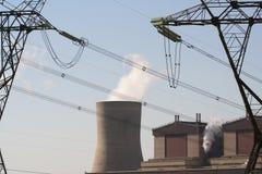 Central energética industrial Fotografia de Stock