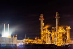 Central energética industrial Foto de Stock