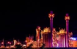 Central energética industrial Imagem de Stock