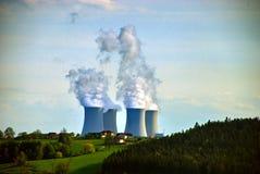 Central energética nuclear #7 Imagem de Stock